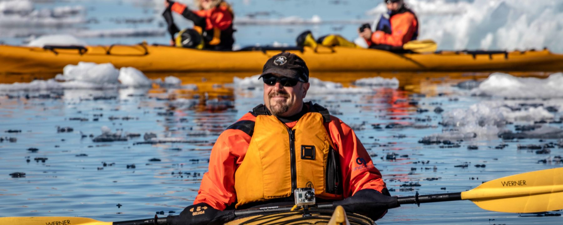 Sea Kayaking tour with One Ocean Expeditions in the Canadian Arctic