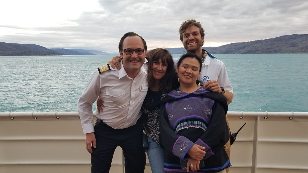 One Ocean Expeditions' amazing staff for a voyage to the Canadian Arctic.