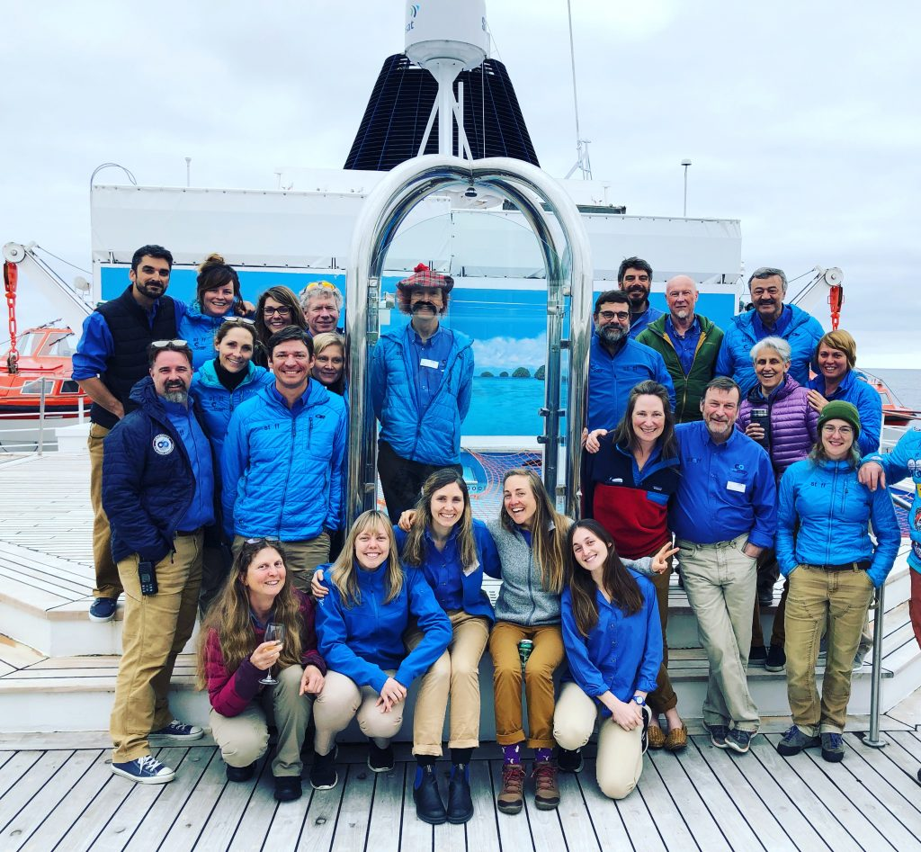 OOE staff for the chilean fjords.