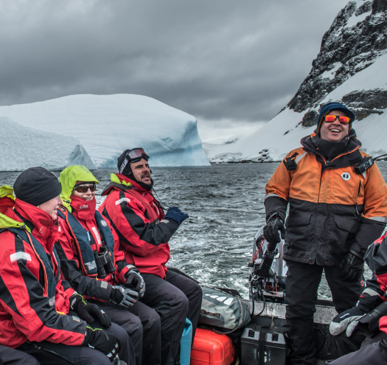 Wildlife tour in Antarctica with One Ocean Expeditions.