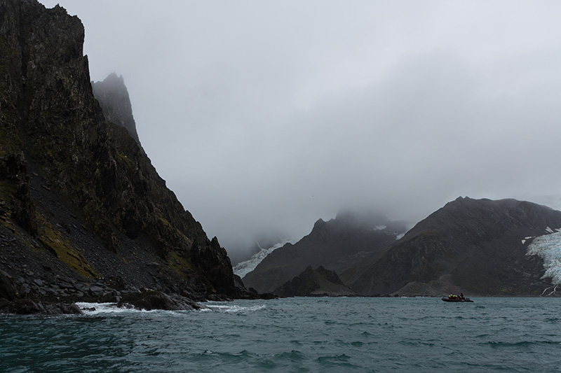 One Ocean Expeditions visits Elephant Island where Shackleton and crew were stranded.