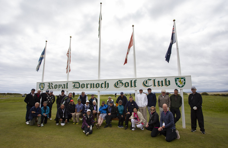 Royal Dornoch Golf Club golf expedition