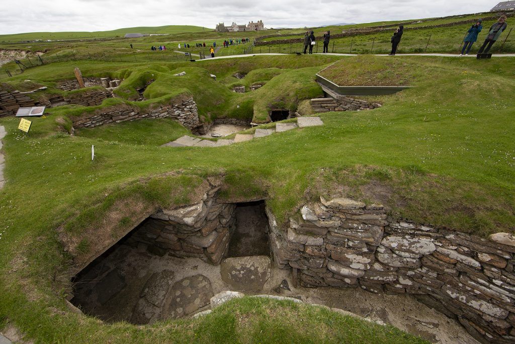 Skara Brae settlement visit, one of the North Atlantic highlights
