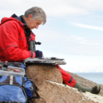 Bruce Pearson, a famous ornithologist travels with One Ocean Expeditions to Antarctica.