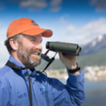 Dick Filby is a famous ornithologist and travels with One Ocean Expeditions to Antarctica.