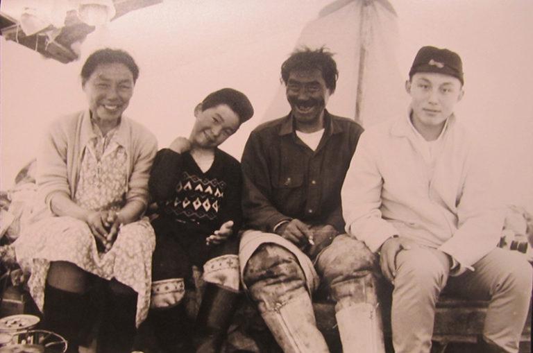 Piita Irnik Inuit with Family