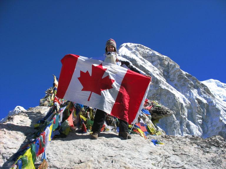 Jill Officer at Everest Base Camp