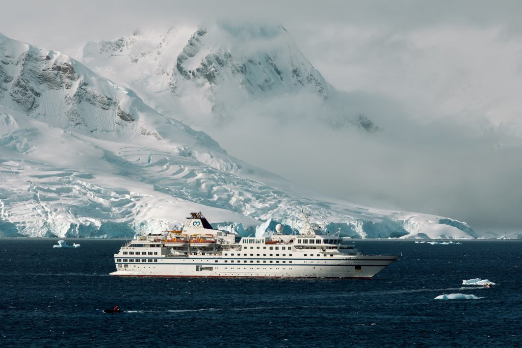 The RCGS Resolute in Antarctica