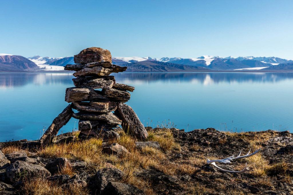 Inukshuk on Baffin Island. Image credit: Roger Pimenta