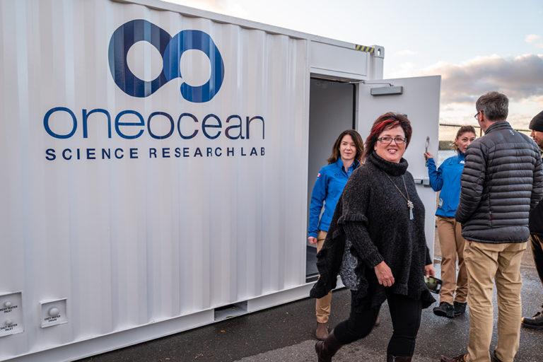 science lab, ocean wise