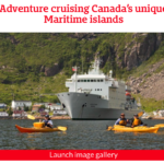 Newspaper Article about Atlantic Canada's small expedition cruise.