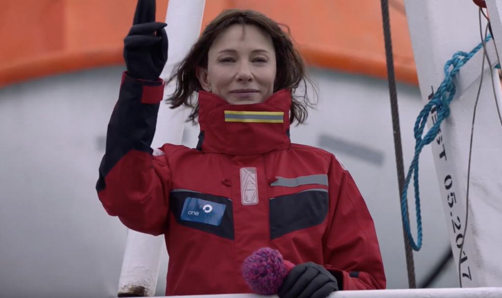 Cate Blanchett goes to the Arctic with One Ocean Expeditions