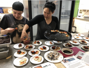 Inuit dishes served at the Community Centre in Cambridge Bay