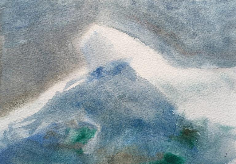 Clare Dudeney watercolour