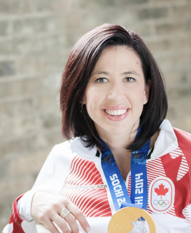Jill Officer Curling Champion